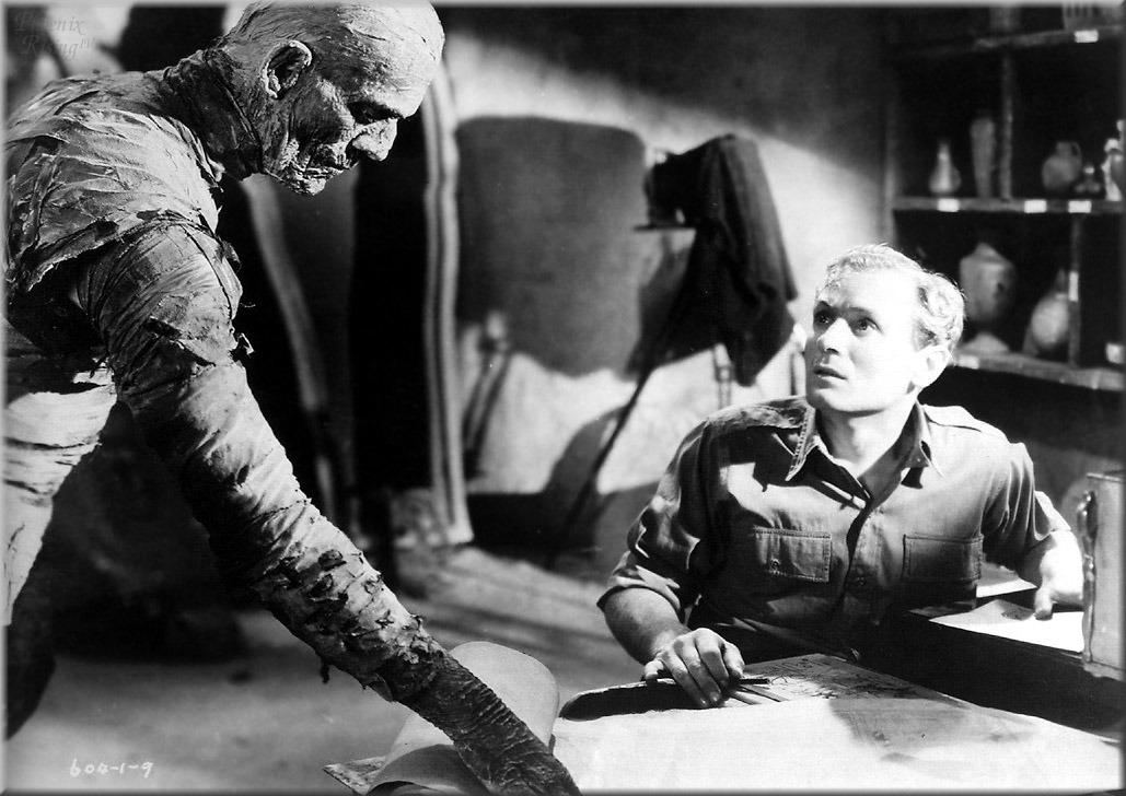 9. 8 Hours - Boris Karloff as Imhotep