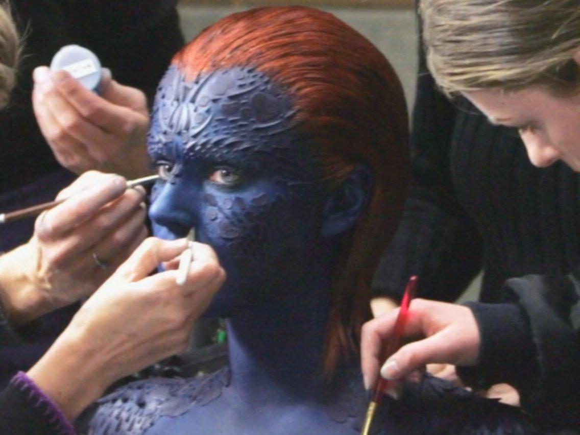 8. 8-9 Hours - Rebecca Romjin/Jennifer Lawrence as Mystique