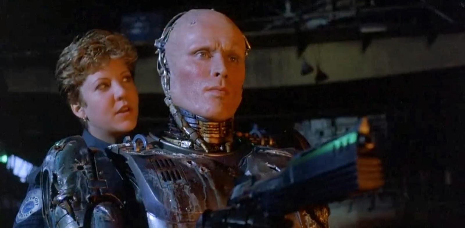 6. 10-11 Hours - Peter Weller as RoboCop
