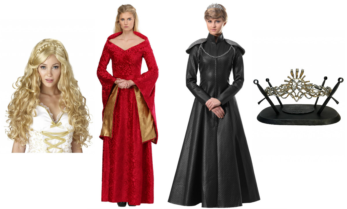 Cersei Lannister Costumes for Lion Queens