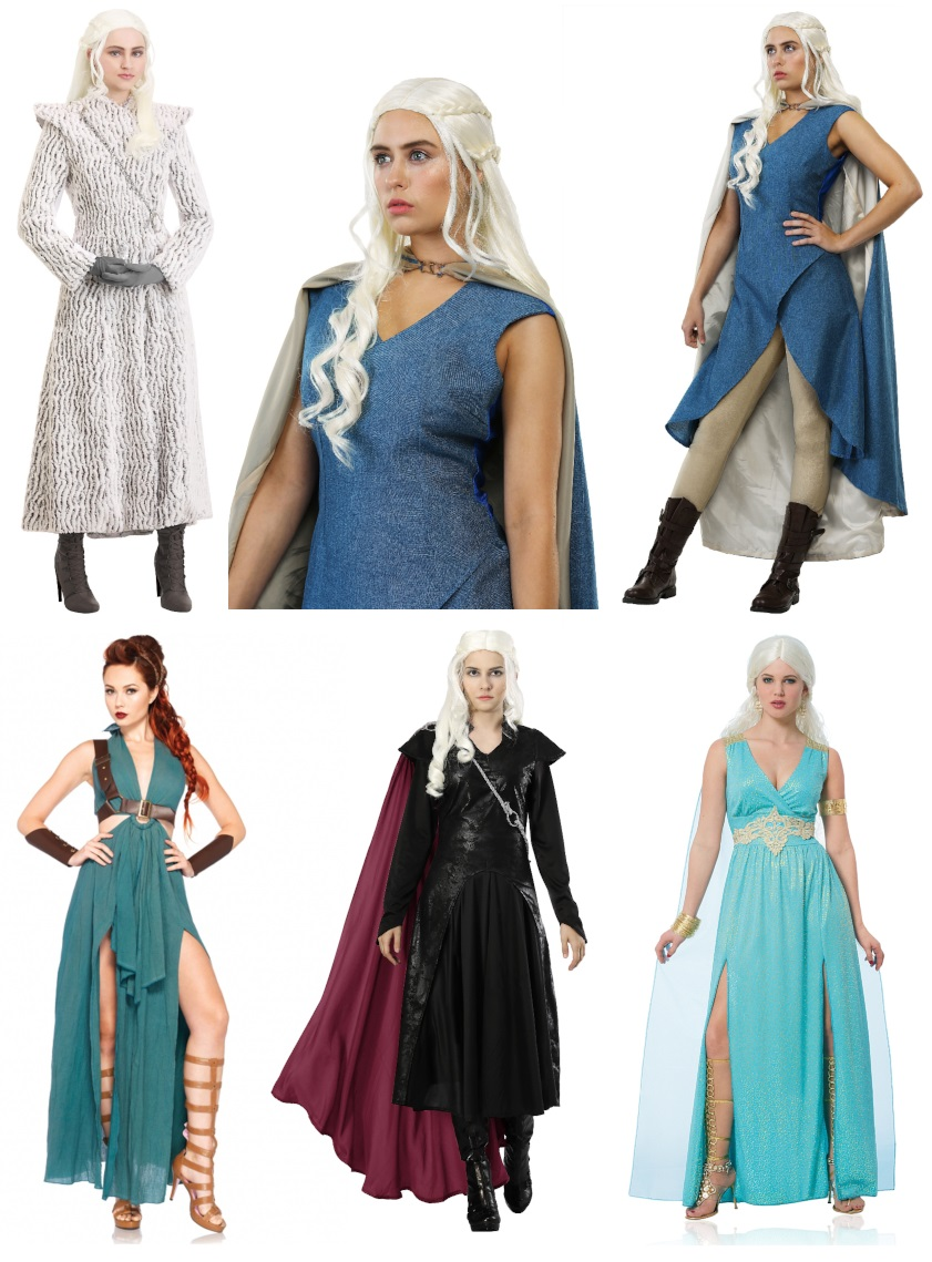Daenerys Targaryen Costumes for Dragon Queens