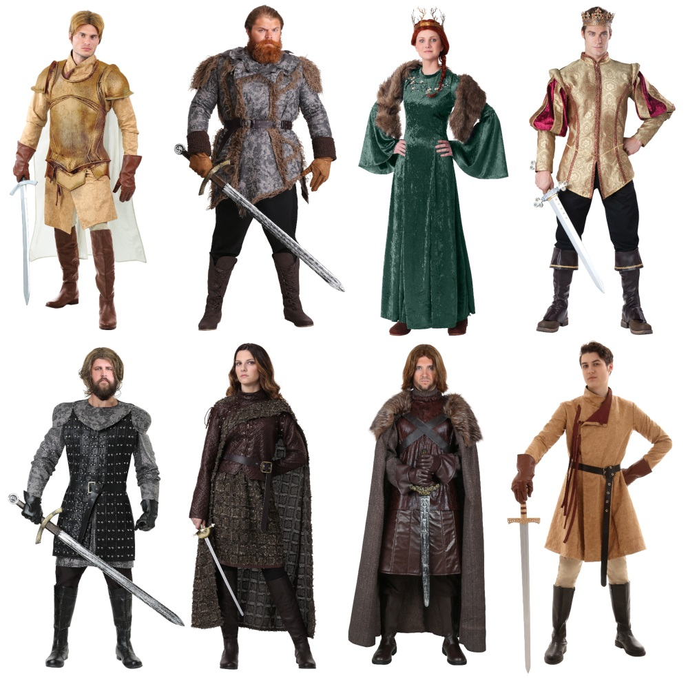 Other Game of Thrones Costumes for Large Groups
