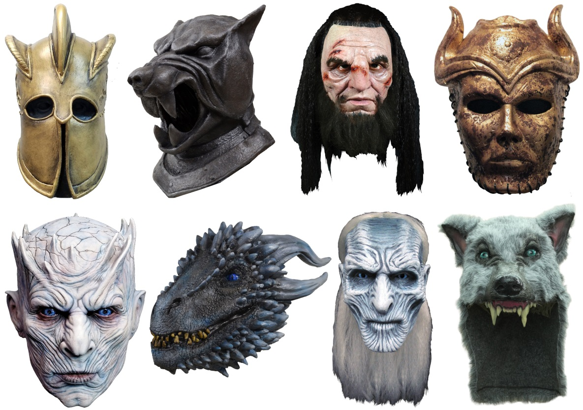 Game of Thrones Helmets and Masks