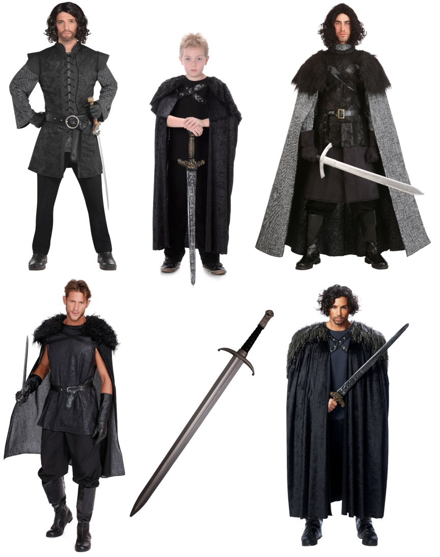Jon Snow Costumes for Nice Guys