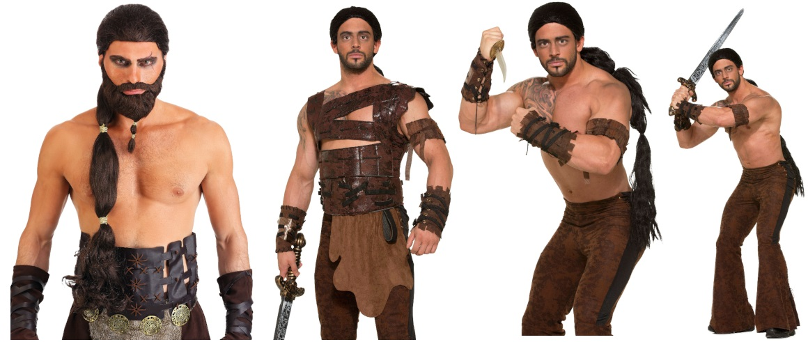 Khal Drogo Costumes for Long-Haired Dudes