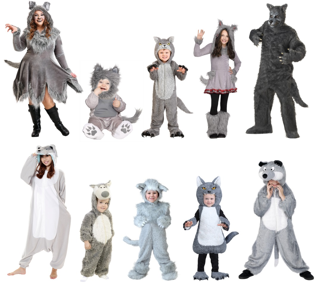 Wolf Costumes so You Can be a Direwolf