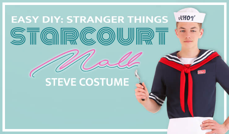 Easy DIY: Stranger Things Starcourt Mall Steve Costume
