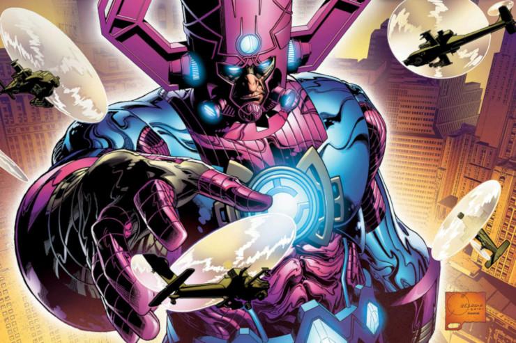 Fantastic Four #1 (October 2018) alternate cover art by Joe Quesada