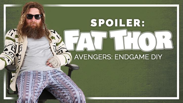 Avengers Fat Thor DIY