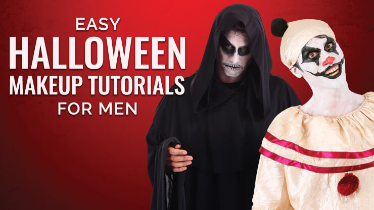 Easy Halloween Makeup Tutorials for Men , Halloween Costumes