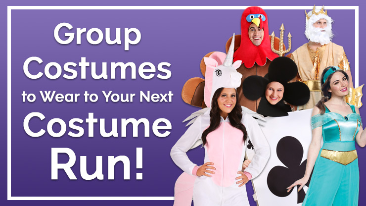 Group Costumes to Wear to Your Next Costume Run