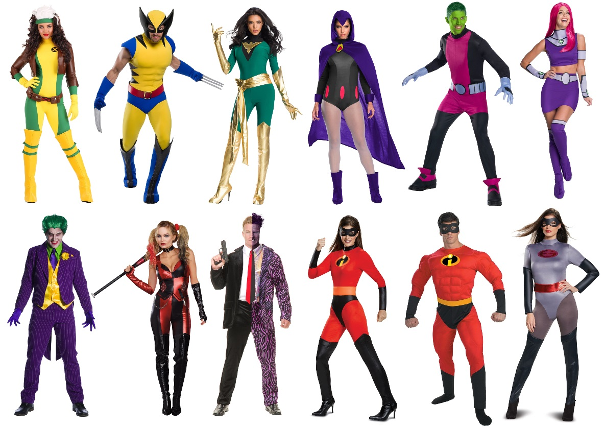 The Best Costume Ideas for a Superhero Run