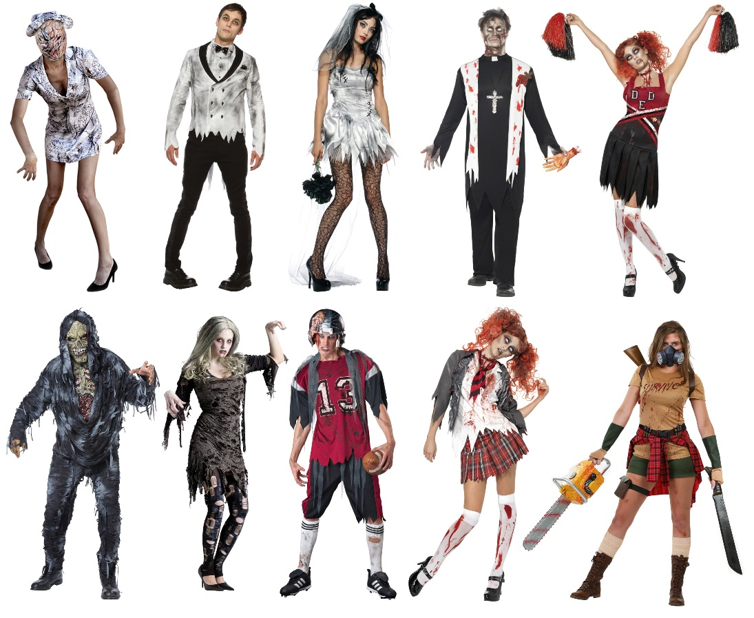 The Best Costume Ideas for a Zombie Run