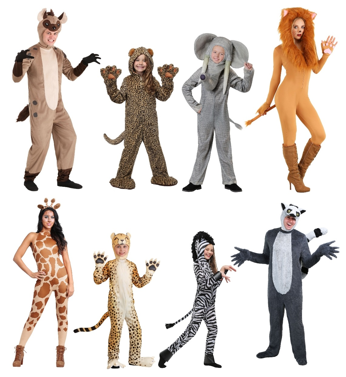 African Animal Costumes