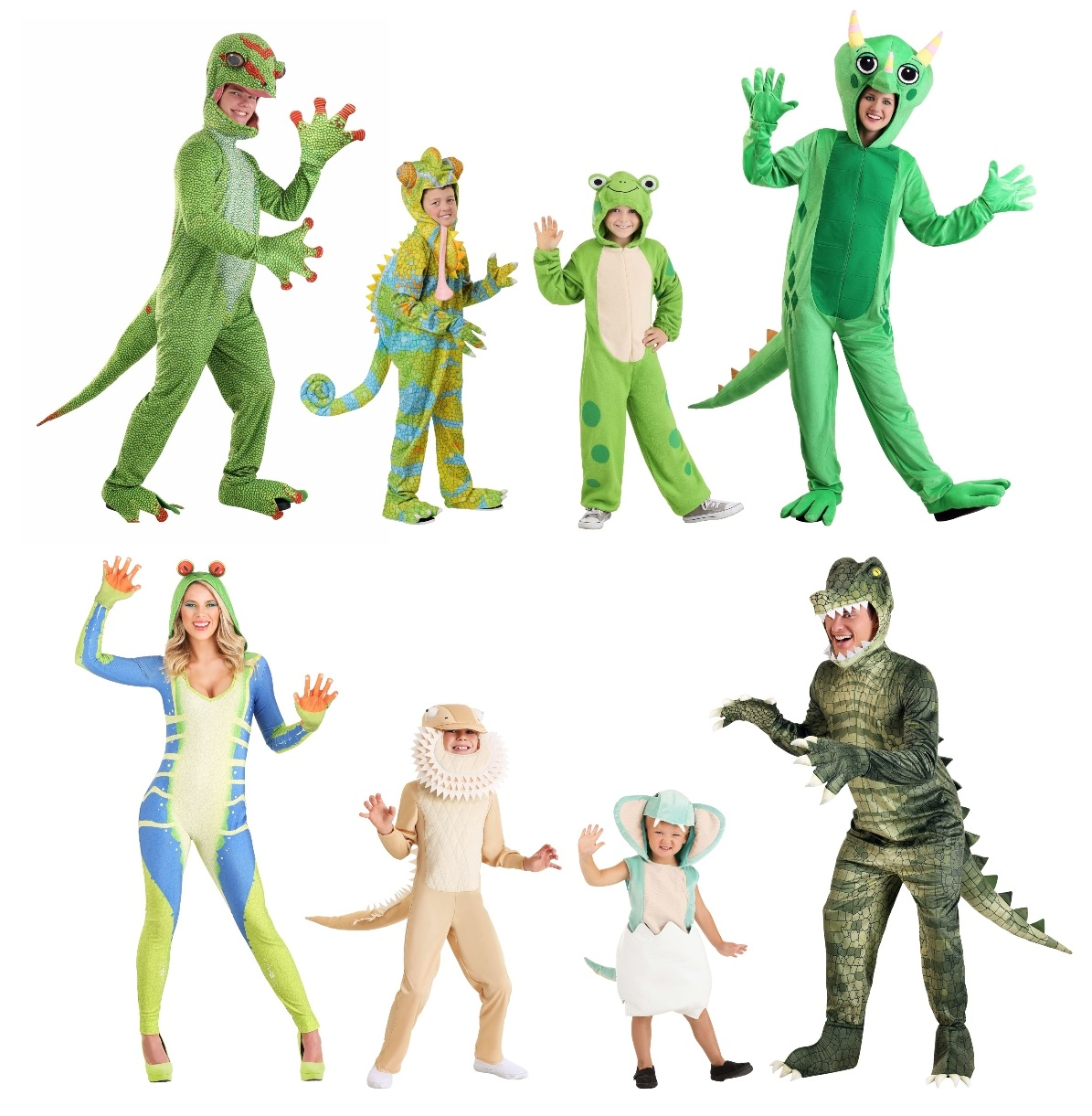 Reptile and Amphibian Costumes