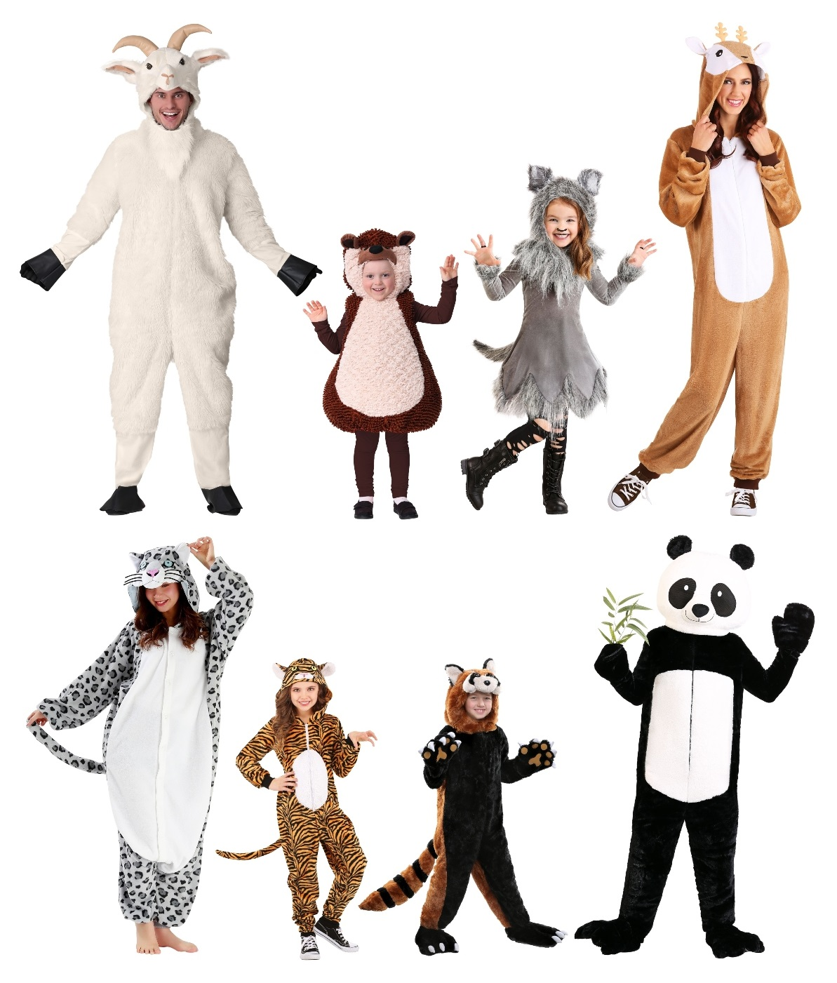Asian and European Animal Costumes