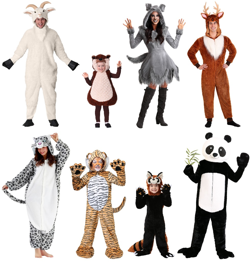 European and Asian Mammal Costumes