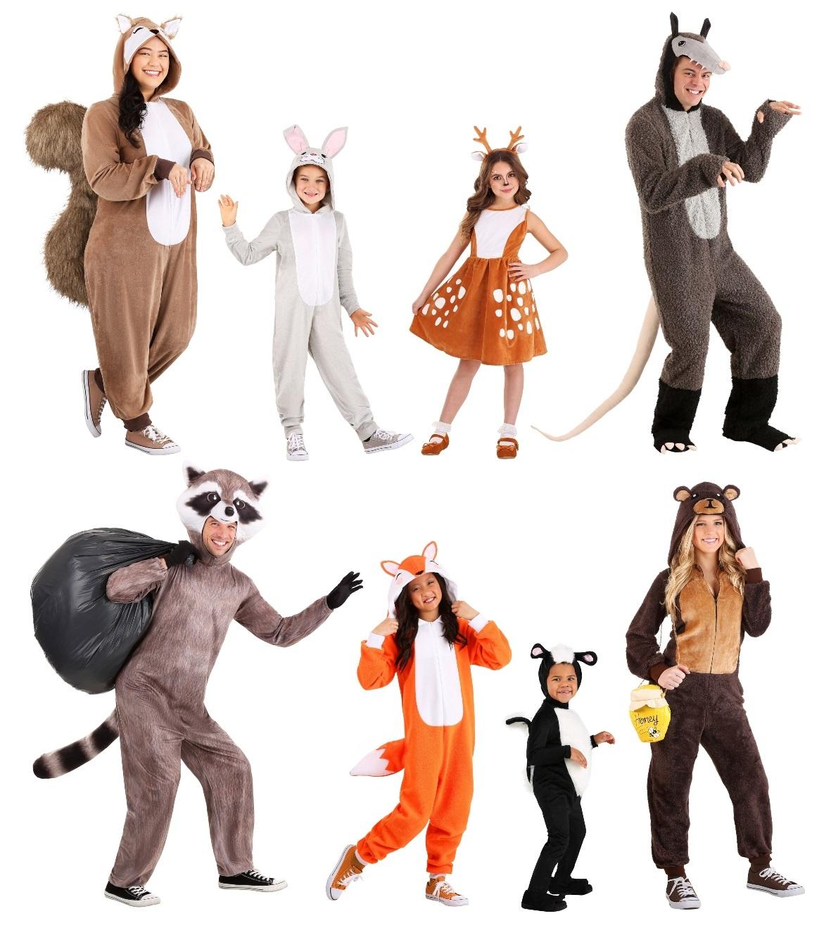 North American Animal Costumes