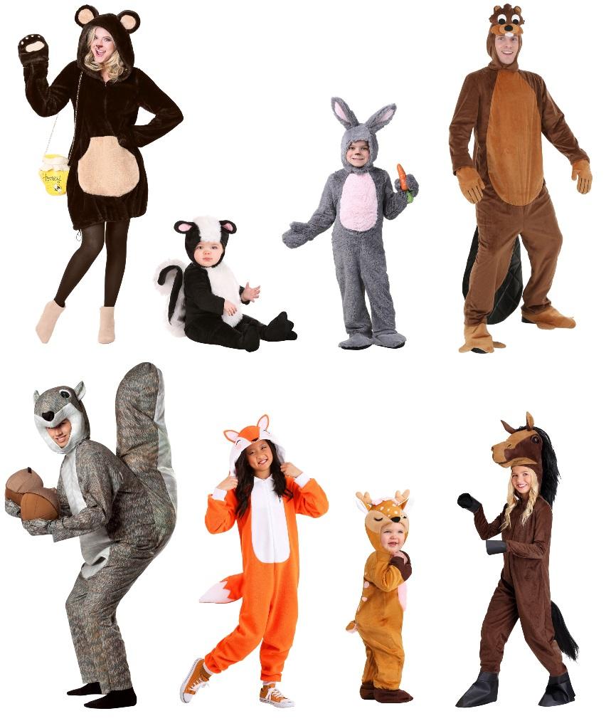 North American Mammal Costumes