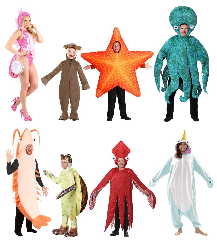 Ocean Animal Costumes