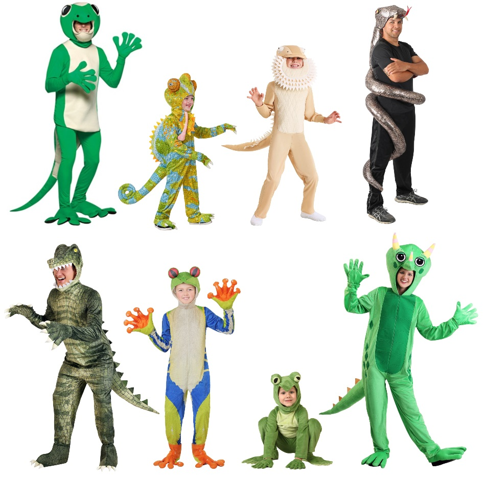 Amphibian and Reptile Costumes