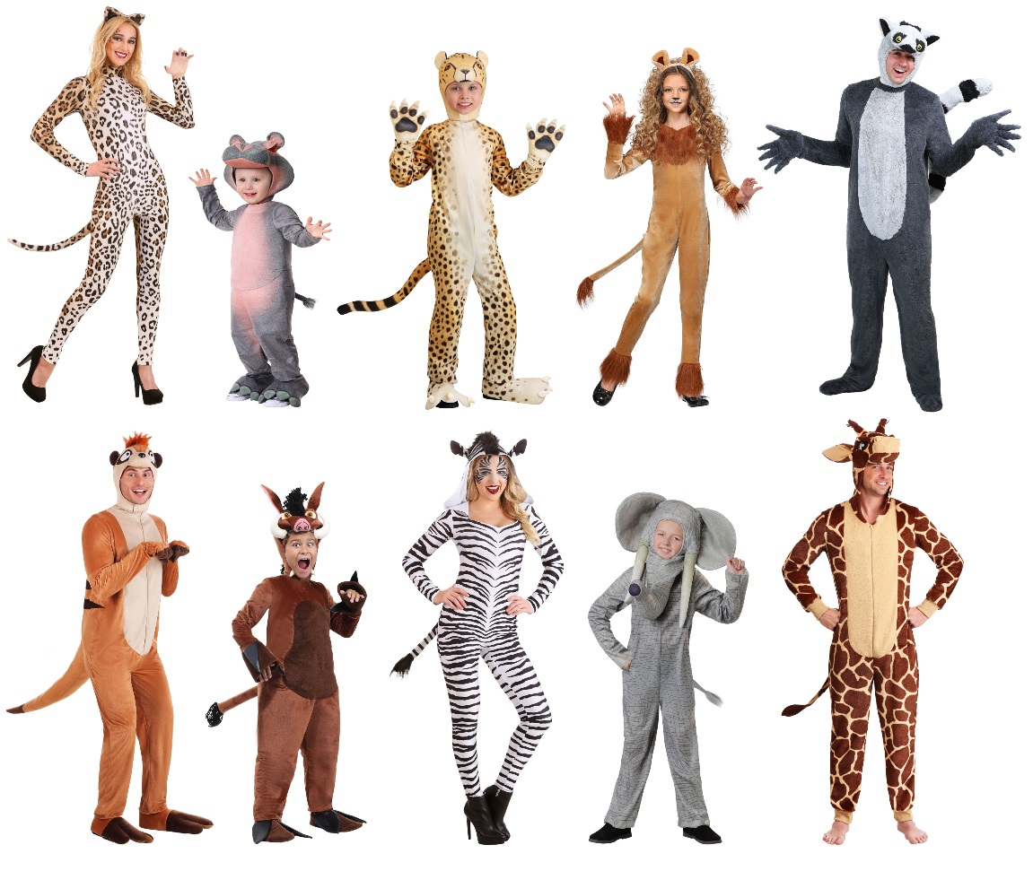 African Mammal Costumes