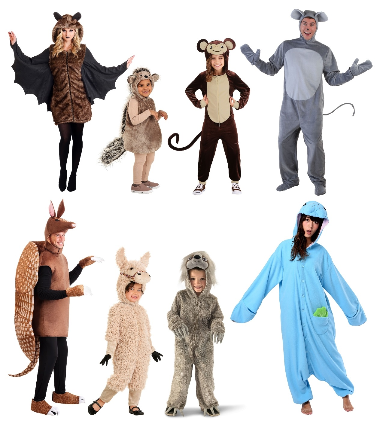 South American Animal Costumes