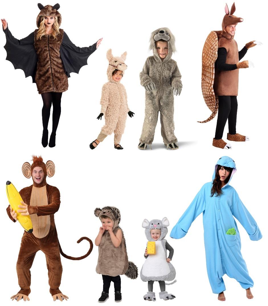 South American Mammal Costumes
