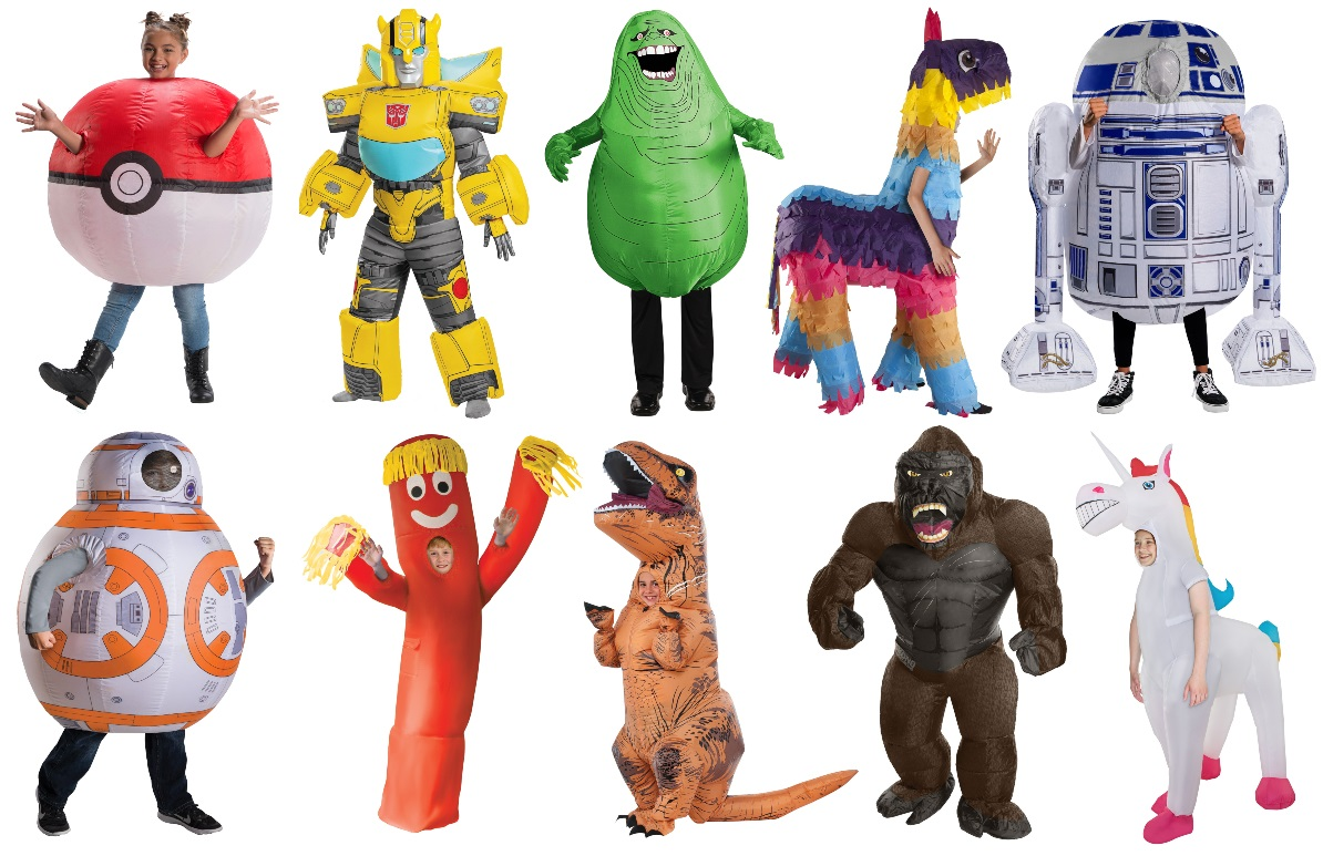 Child Unisex Inflatable Costumes