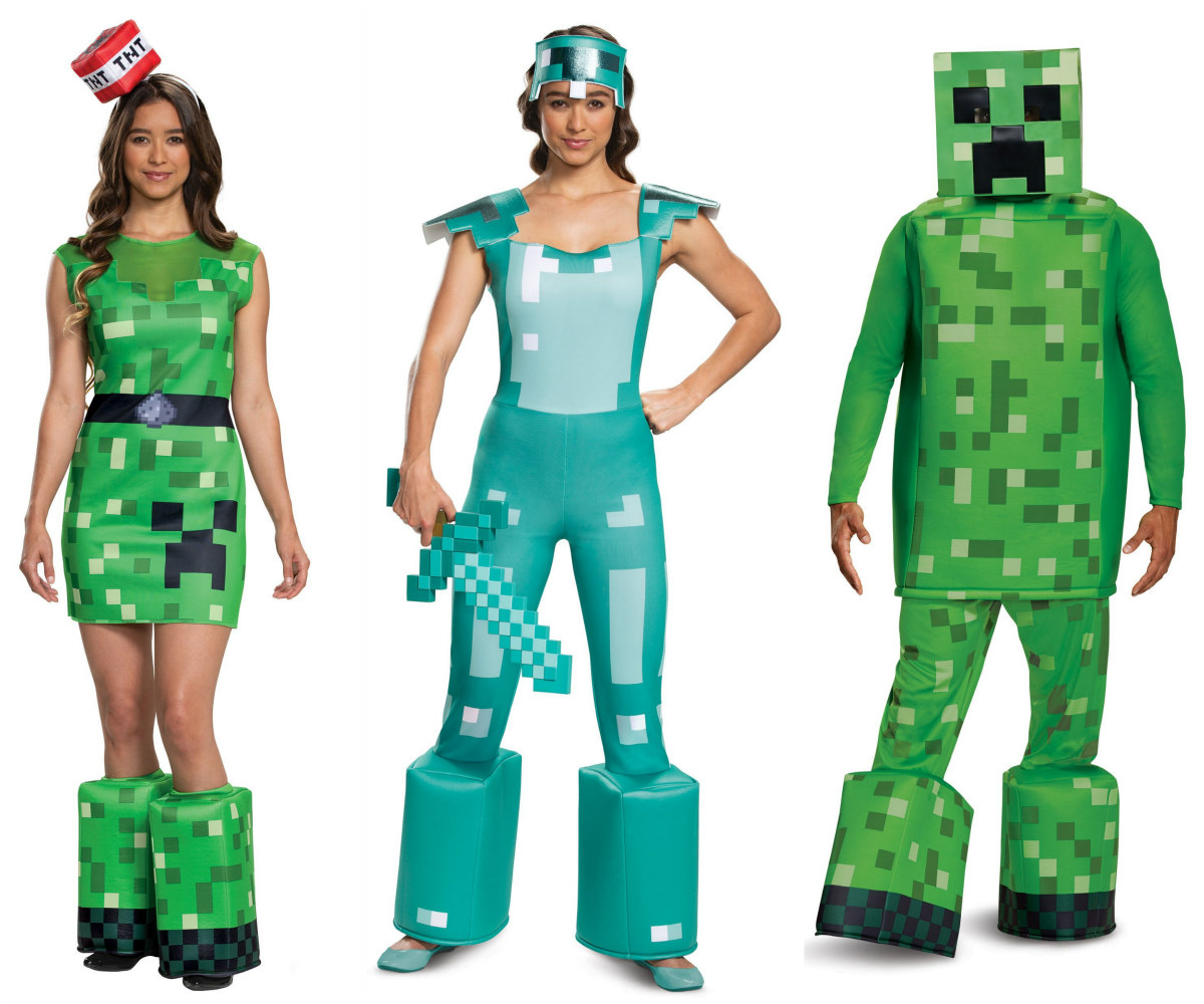 Minecraft Costumes for Adults