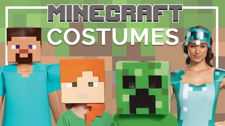 Here are the Best Minecraft Costumes in the World (We Hope You Dig Them)