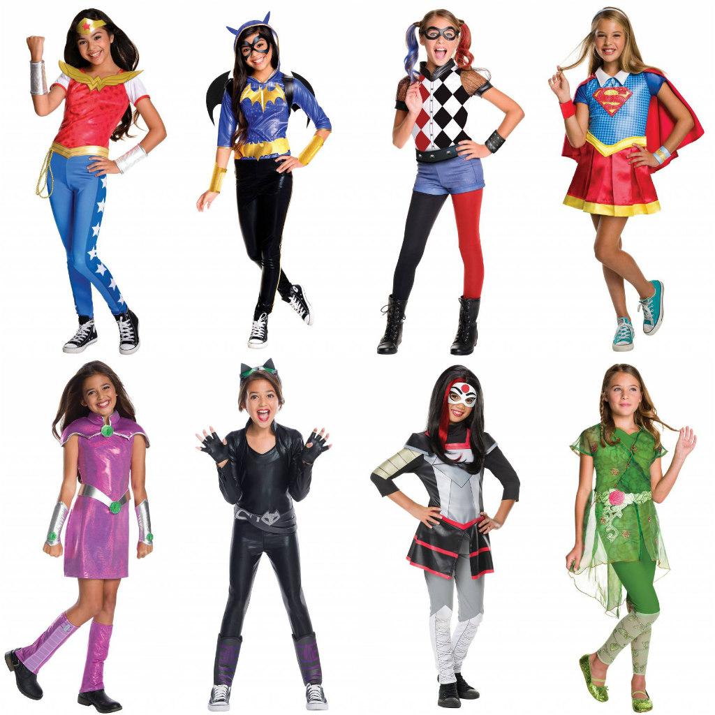DC Super Hero Girls Costumes