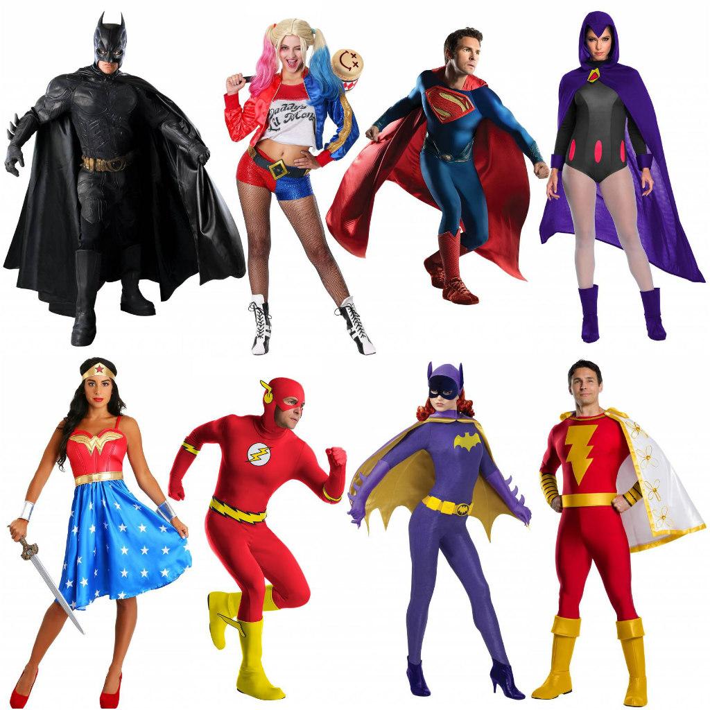 DC Superheroes Costumes