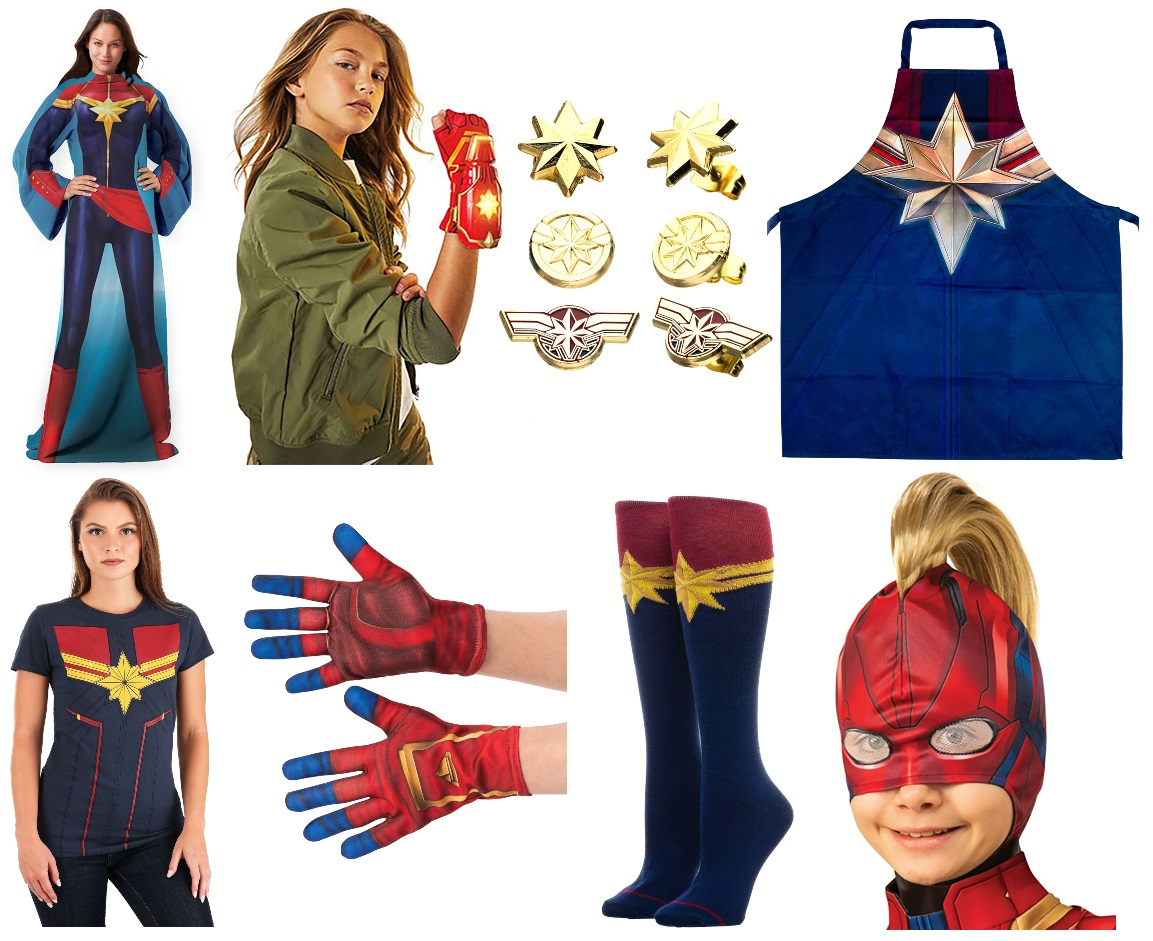 These Captain Marvel Costumes Will Take You Higher Further Faster Halloweencostumes Com Blog ~hyoutan as captain america photographer: these captain marvel costumes will take