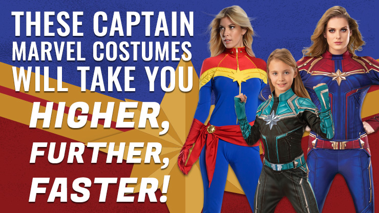 These Captain Marvel Costumes Will Take You Higher, Further, Faster