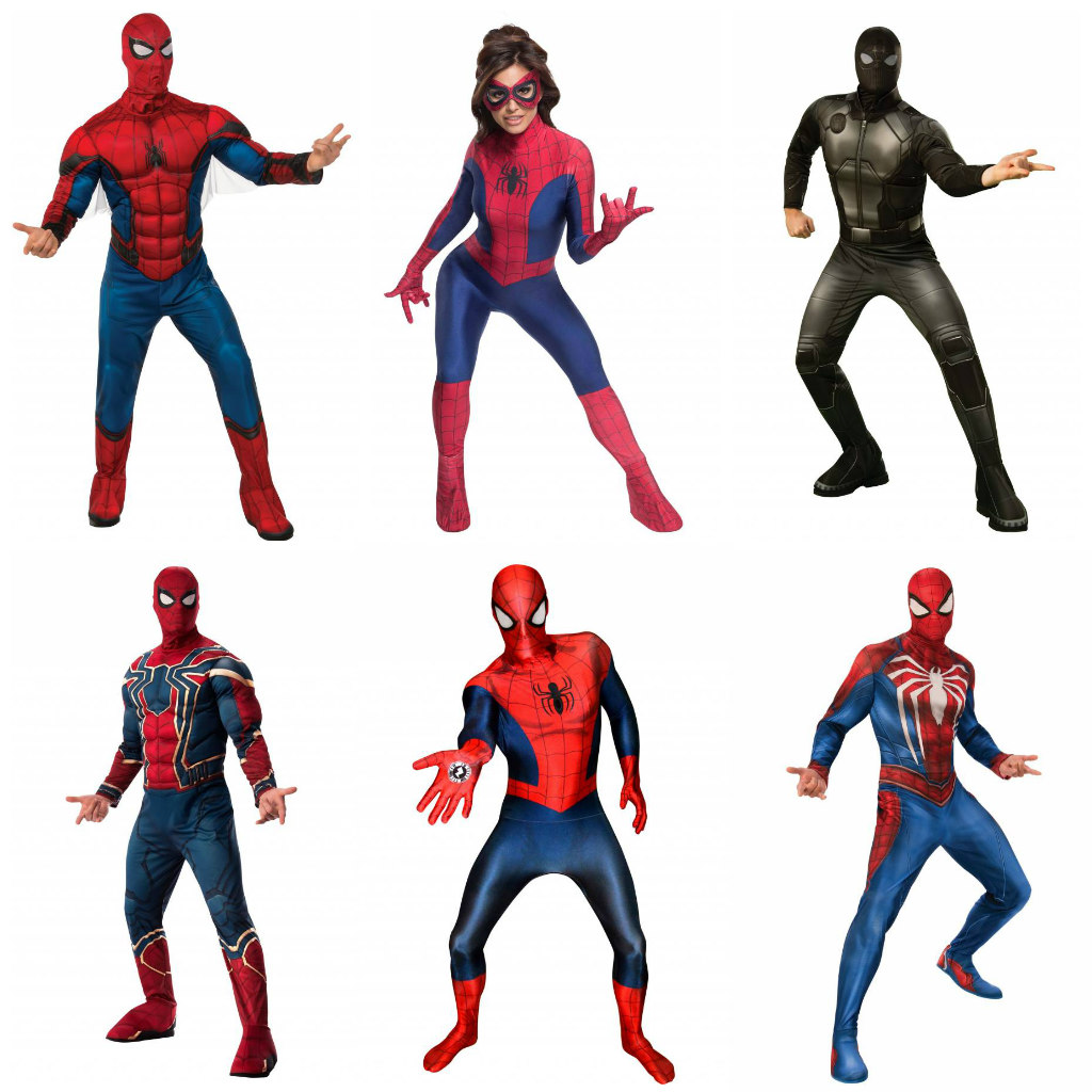 Adult Spider-Man Costumes