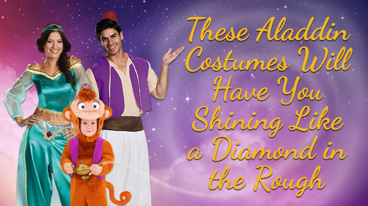 These Aladdin Costumes will have You Shining Like a Diamond in the Rough