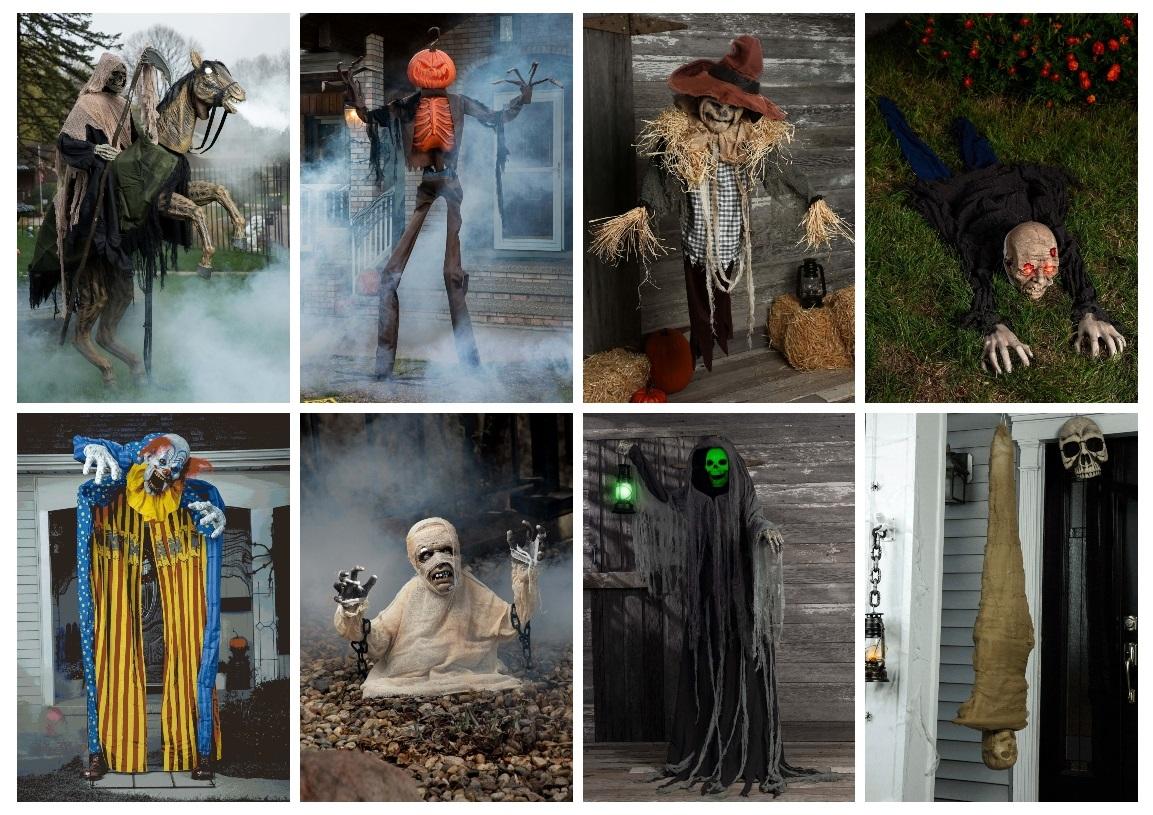 Outdoor Halloween Animatronics