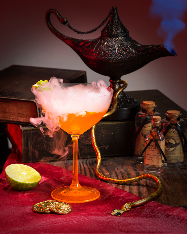 Disney Cocktails/Mocktails Recipes: Jafar's Venom of Agrabah