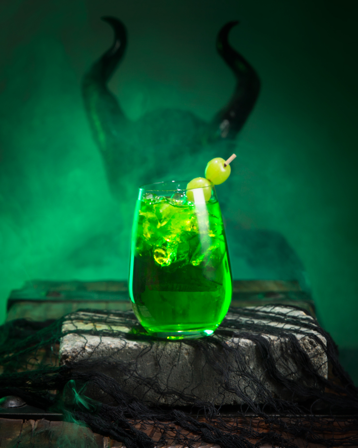 Disney Cocktail Recipes Maleficent's Deep Sleep Sour Drink