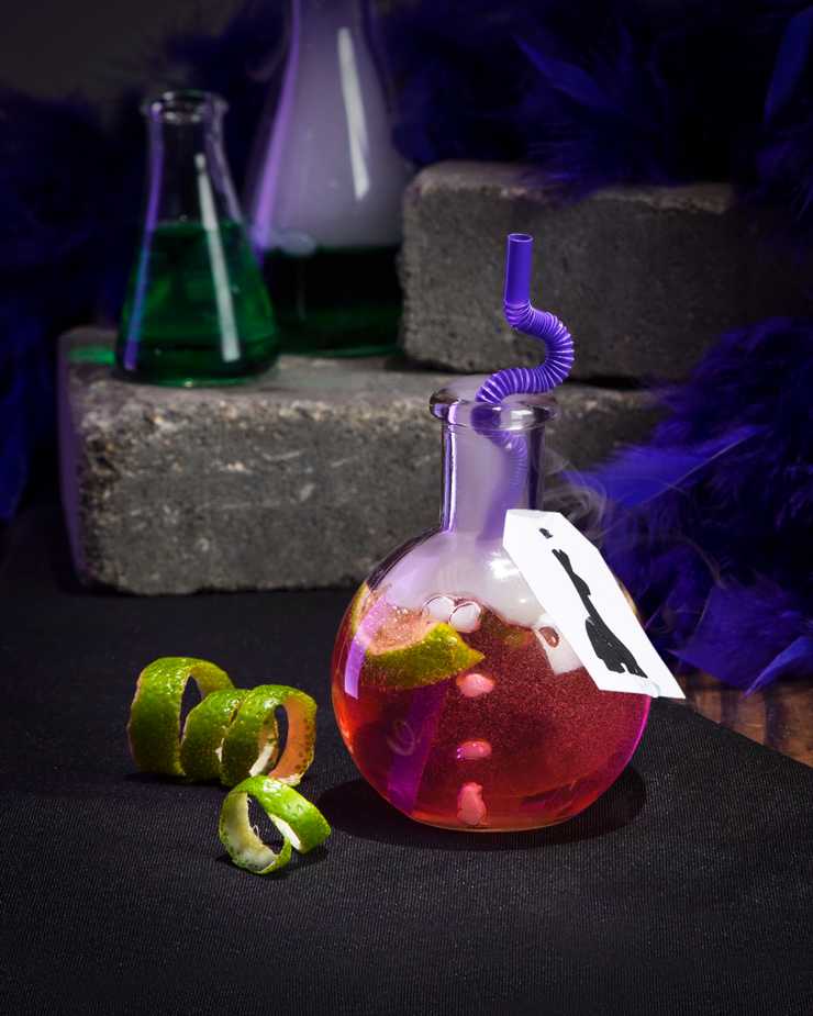 Disney Cocktail Recipes Yzma's Hot Pink Potion of Madness