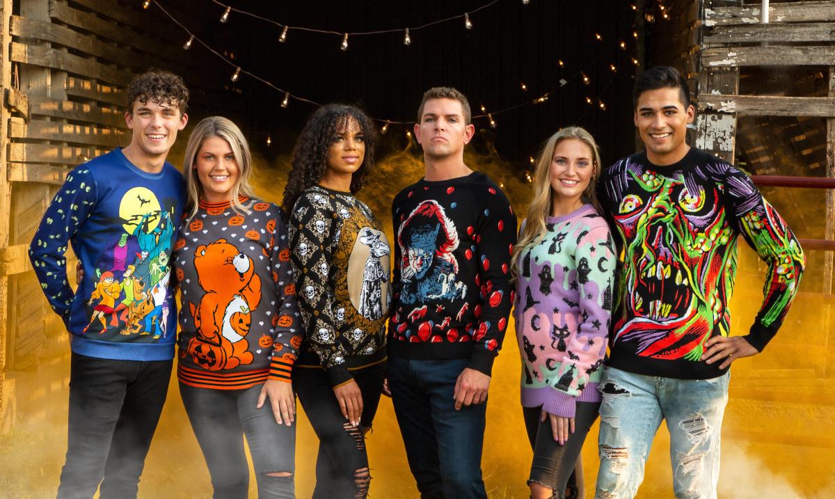 2021 Halloween Sweaters