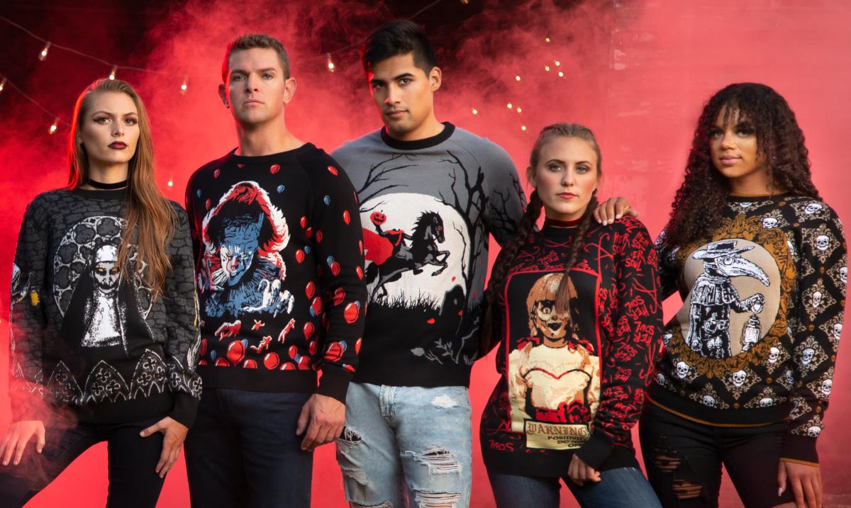 2021 Horror Sweaters