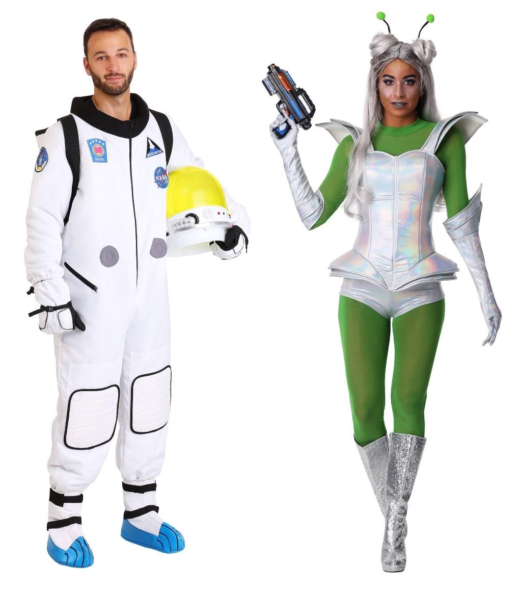 Alien and Astronaut Costume