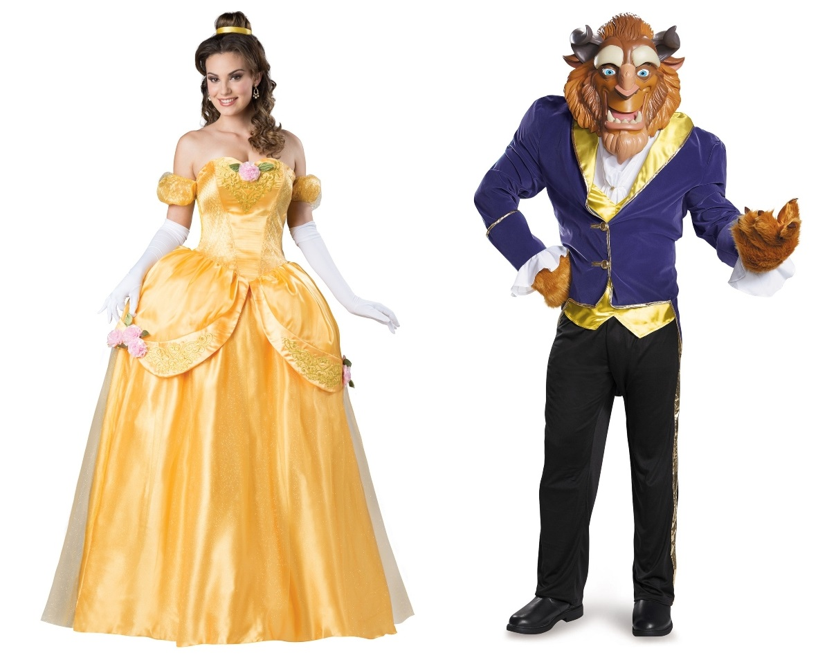 Beauty and the Beast Couples Costumes