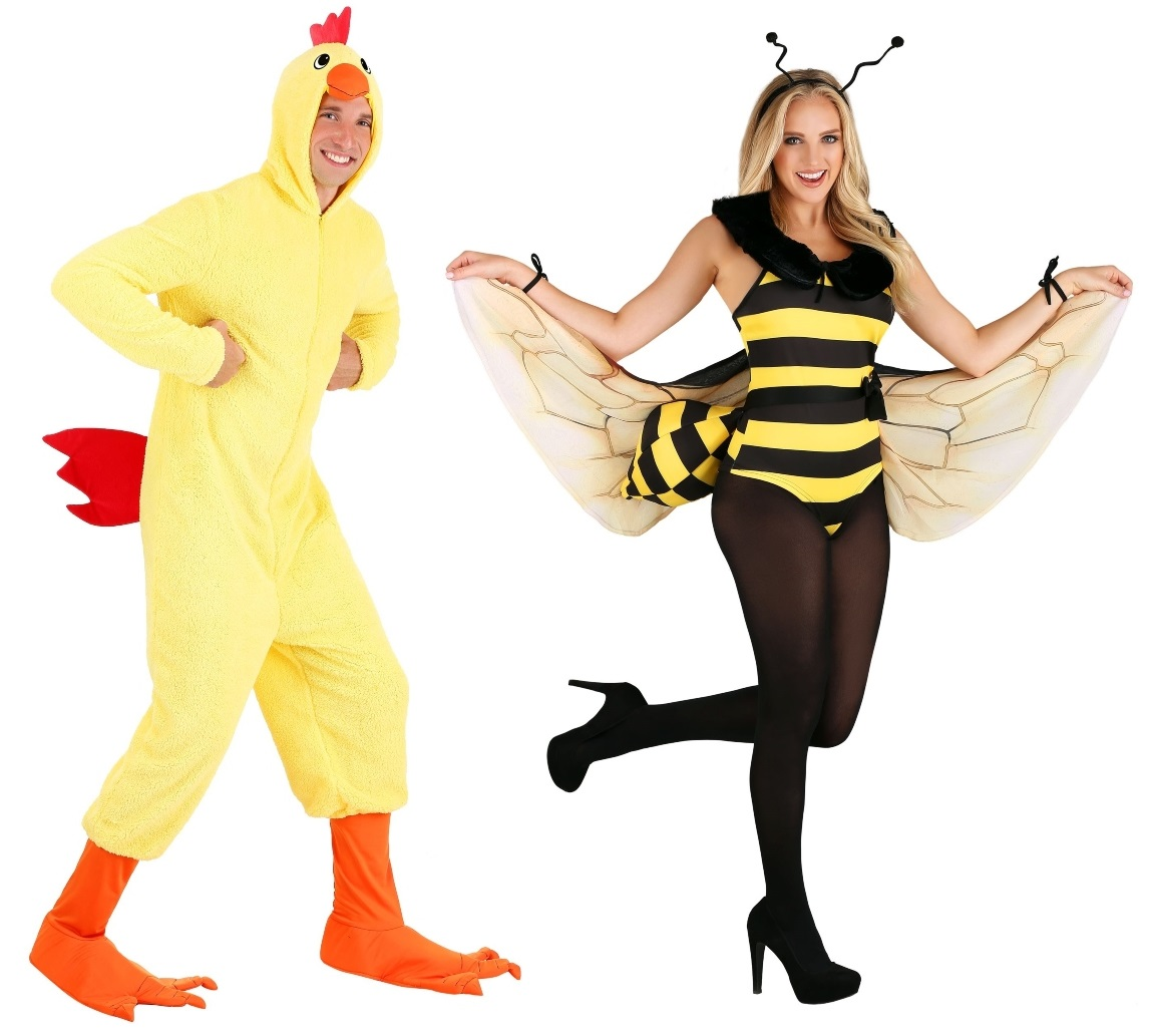 Birds and Bees Couples Costumes