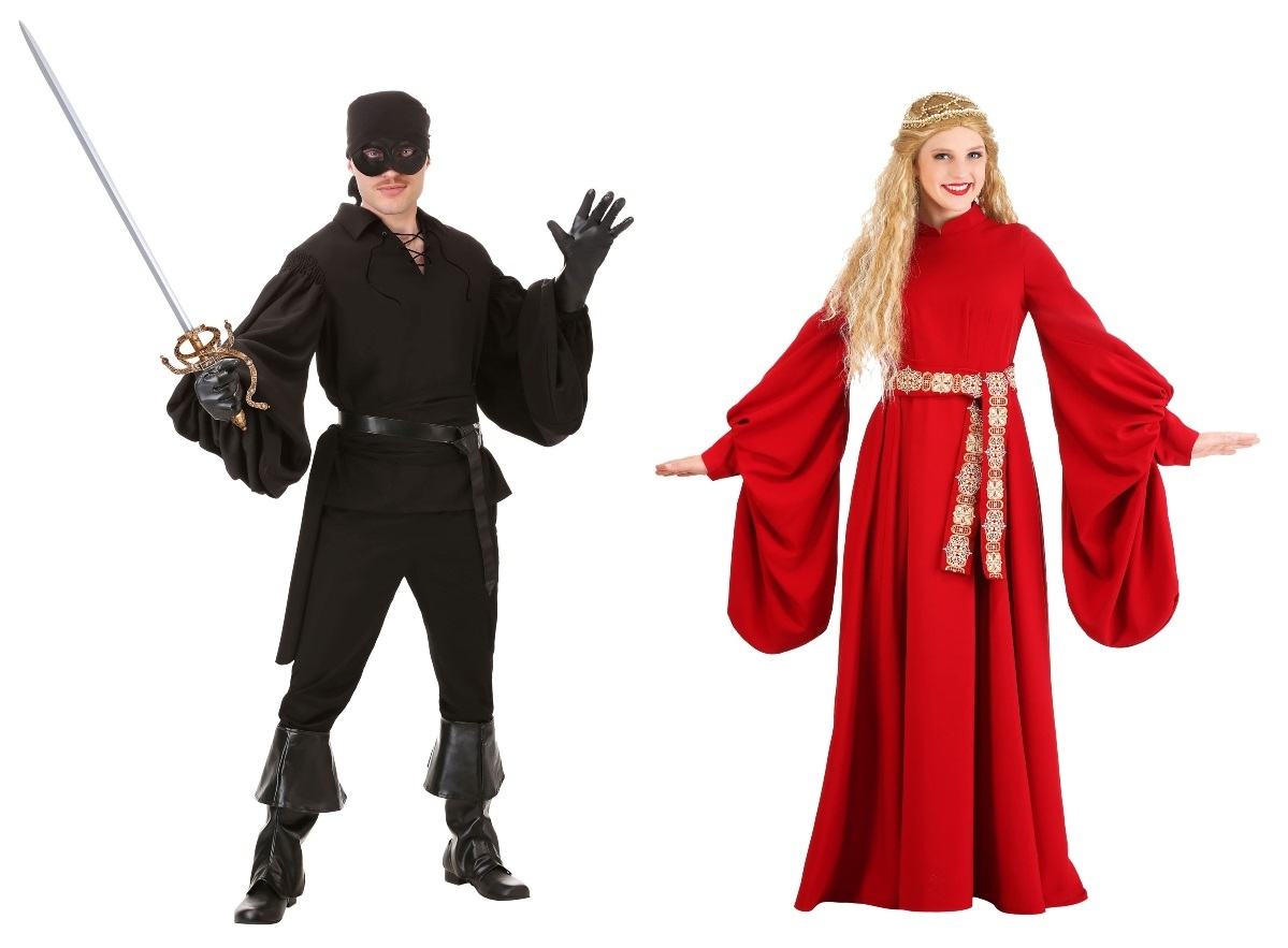 Westley and Buttercup Couples Costumes