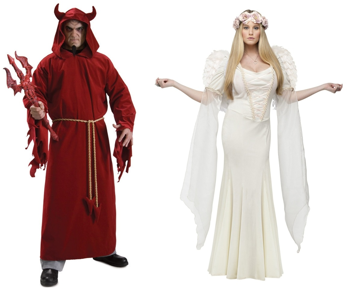Angel and Devil Couples Costume