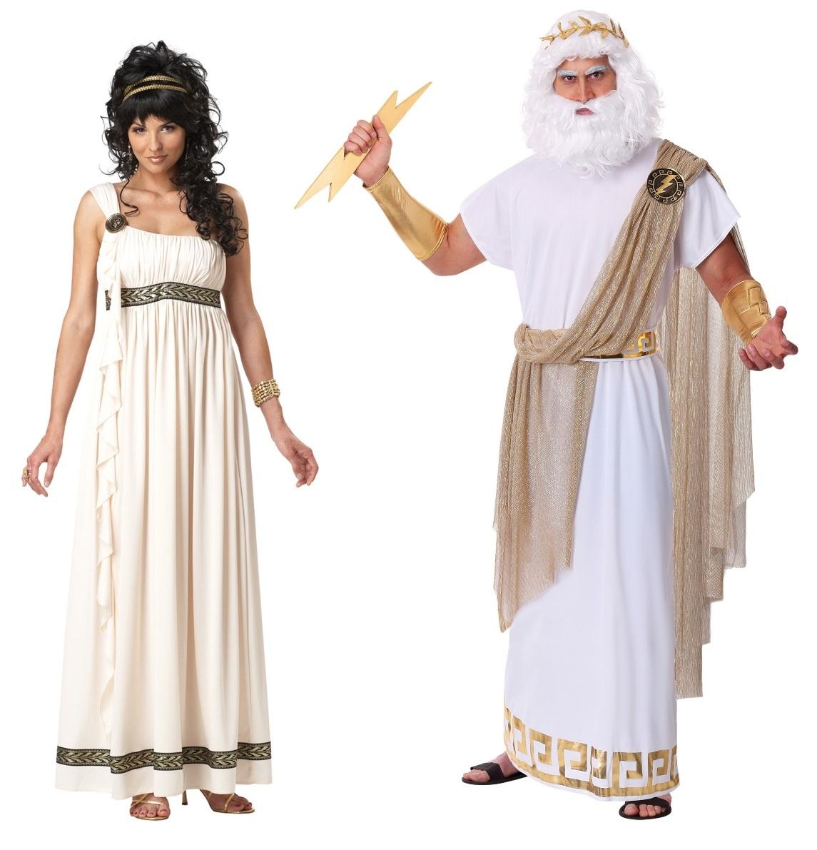 Zeus and Hera Couples Costumes