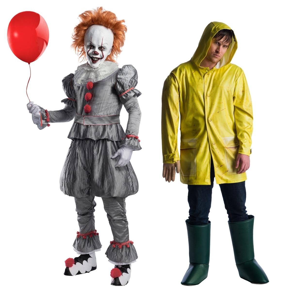 Georgie and Pennywise Couples Costumes